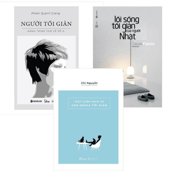 Combo Người Tối Giản + Lối Sống Tối Giản Của Người Nhật (Tái Bản) + Một Cuốn Sách Về Chủ Nghĩa Tối Giản - 1676201 , 2683239255700 , 62_11635298 , 253000 , Combo-Nguoi-Toi-Gian-Loi-Song-Toi-Gian-Cua-Nguoi-Nhat-Tai-Ban-Mot-Cuon-Sach-Ve-Chu-Nghia-Toi-Gian-62_11635298 , tiki.vn , Combo Người Tối Giản + Lối Sống Tối Giản Của Người Nhật (Tái Bản) + Một Cuốn Sá