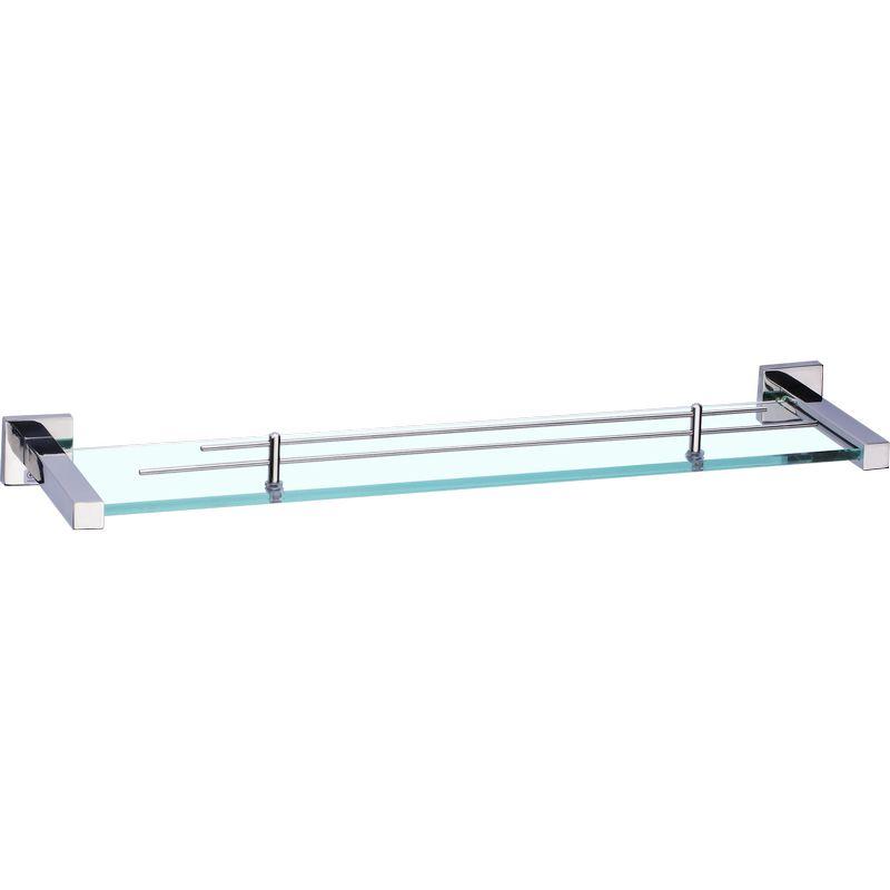 Kệ kính phòng tắm BNV02 (INOX 304  Kính Cường Lực 8 Ly)