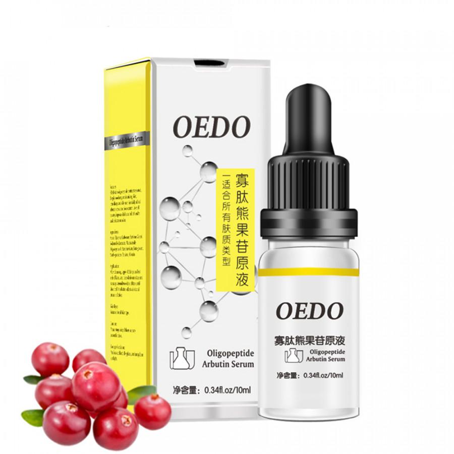 OEDO Oligopeptide Arbutin Serum 10ml Moisturizing Face Serum Whitening Plant Skin Care Anti Aging Anti Wrinkle Cream