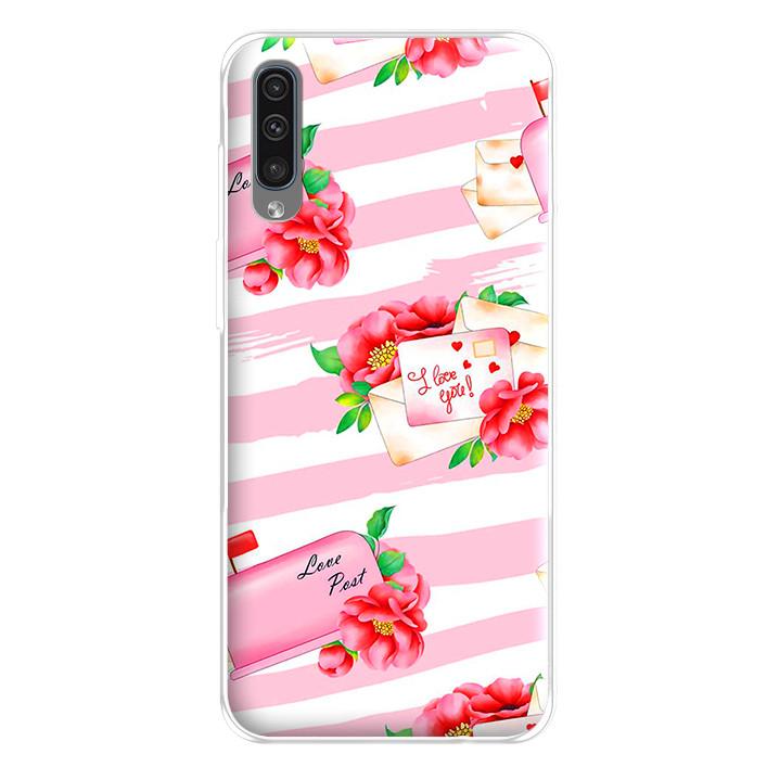 Ốp lưng dẻo cho điện thoại Samsung Galaxy A50 - 224 0074 ILOVEU02