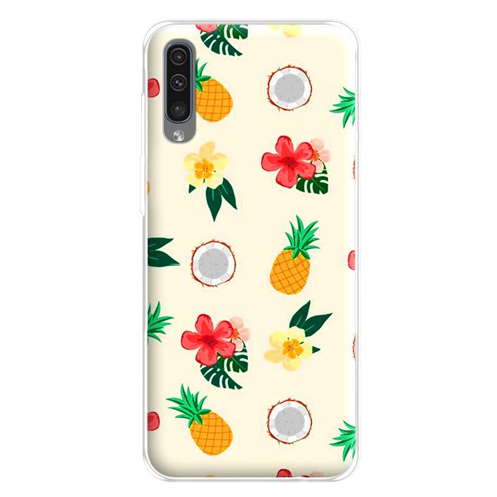 Ốp lưng dẻo cho điện thoại Samsung Galaxy A50 - 224 0046 FRUIT04
