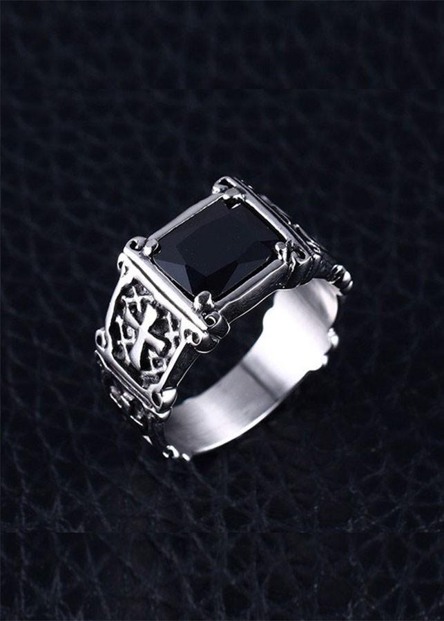 Nhẫn thời trang nam inox BNI4n - 1081860 , 9590030934488 , 62_6748581 , 845000 , Nhan-thoi-trang-nam-inox-BNI4n-62_6748581 , tiki.vn , Nhẫn thời trang nam inox BNI4n