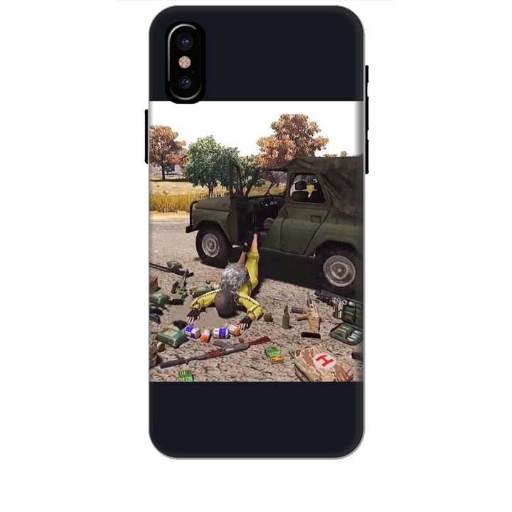 Ốp lưng dành cho điện thoại IPHONE X hinh PUBG Mẫu 03