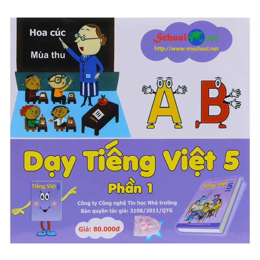Phần Mềm Dạy Tiếng Việt 5 Phần 1 DTV5P1