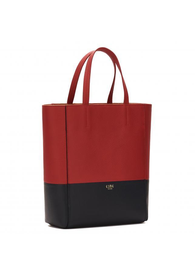 Túi da bò Esme Redkiss Handbag - Đỏ