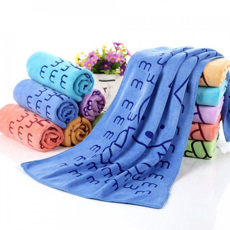 Handkerchief Feeding Cloth Cute Microfiber Big M Rabbit Bathroom Absorbent