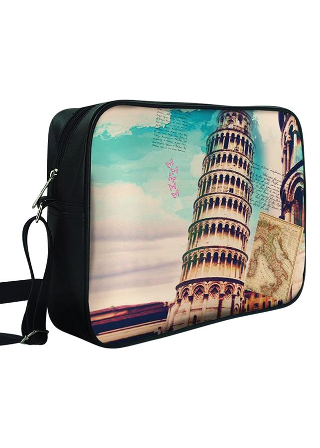 Túi Chéo Hộp Tháp Nghiêng Pisa - TTCVT016