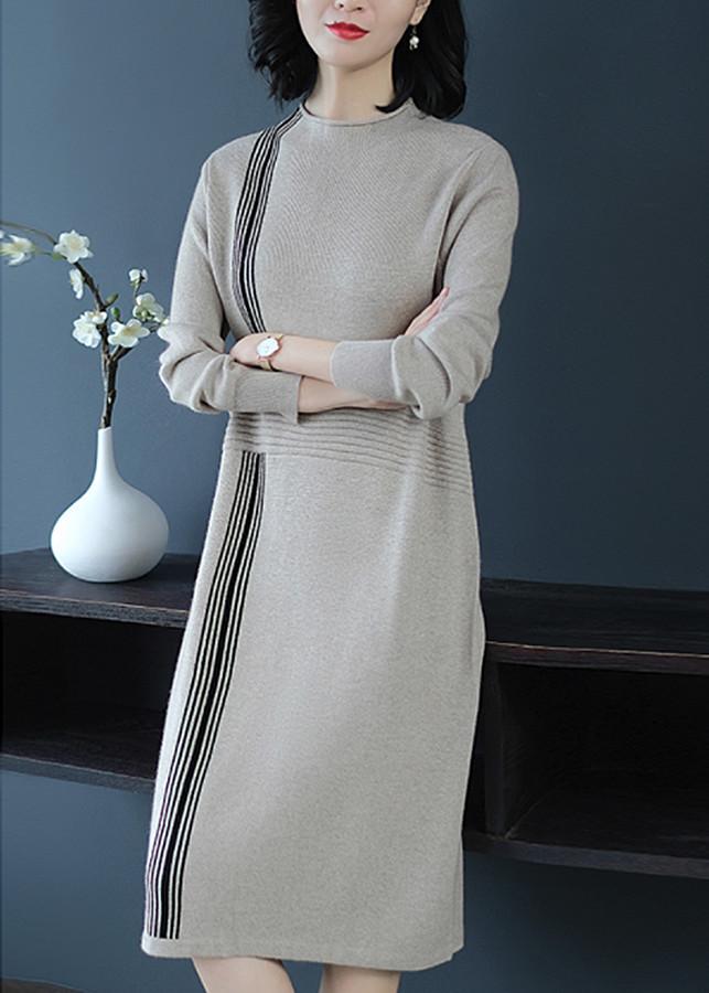 Đầm Len Nữ Dáng Suông HR1501