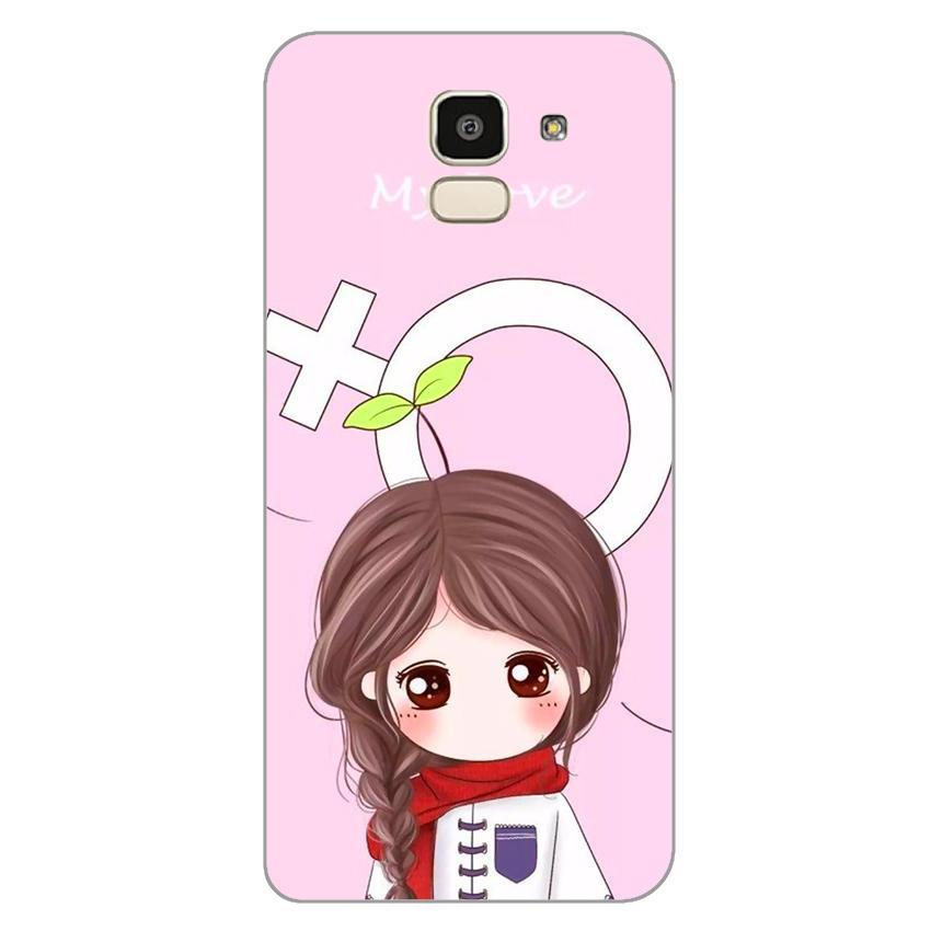 Ốp lưng dẻo cho Samsung Galaxy J6_Couple Girl 06