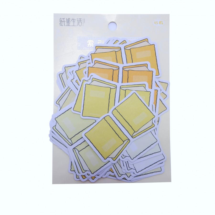 Bộ 45 nhãn dán phân trang (Hình cuốn sách) - 2286087 , 6879696766224 , 62_14672072 , 36000 , Bo-45-nhan-dan-phan-trang-Hinh-cuon-sach-62_14672072 , tiki.vn , Bộ 45 nhãn dán phân trang (Hình cuốn sách)