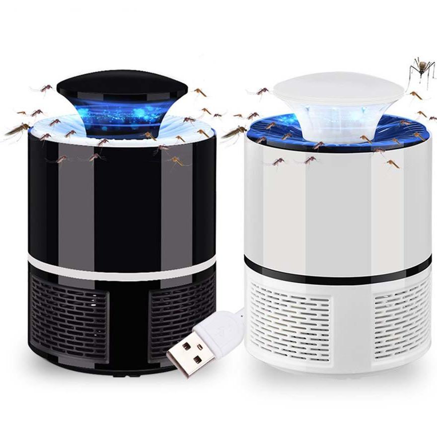 Đèn Bắt Muỗi Và Côn Trùng - Tặng Kèm Củ Sạc USB Đa Năng - Màu Ngẫu Nhiên
