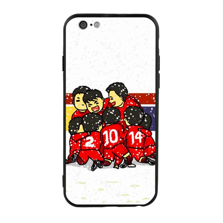 Ốp Lưng Viền TPU Cao Cấp Dành Cho iPhone 6 - U23 Mẫu 2
