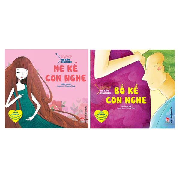 Bộ 2 Cuốn Cẩm Nang Dành Cho Mẹ Bầu Và Thai Nhi