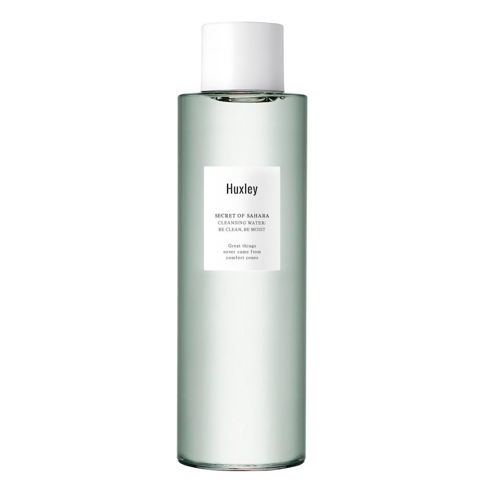 Nước tẩy trang dịu nhẹ dành cho da nhạy cảm Huxley Cleansing Water; Be Clean, Be Moist 200ml