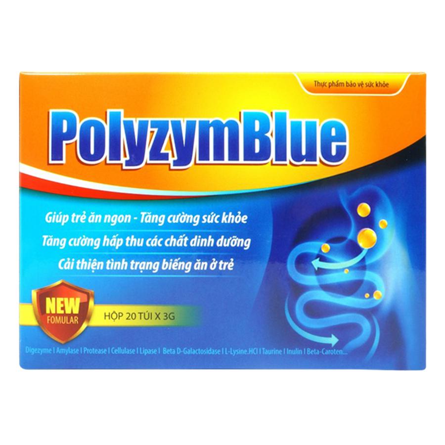 Thực Phẩm Bảo Vệ Sức Khỏe Polyzym Blue (3g / Túi)