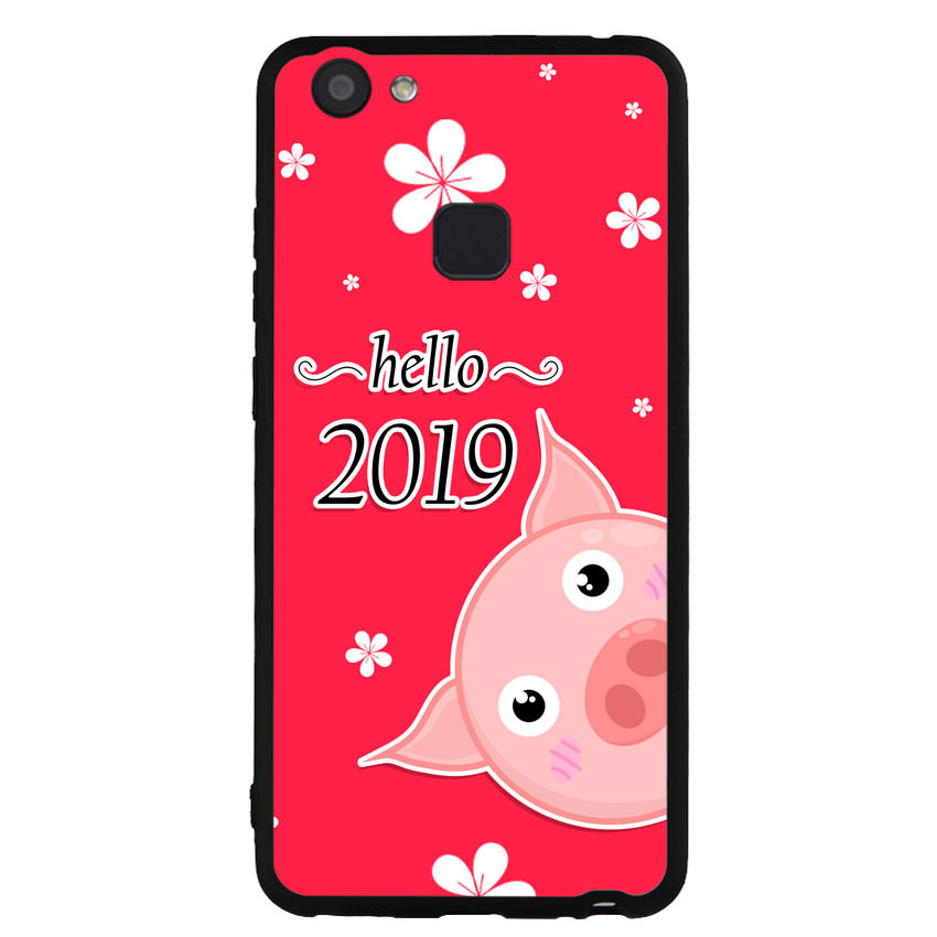 Ốp lưng dành cho điện thoại Vivo V7 - V7 PLUS - Y83 - Pig 2019 Mẫu 2