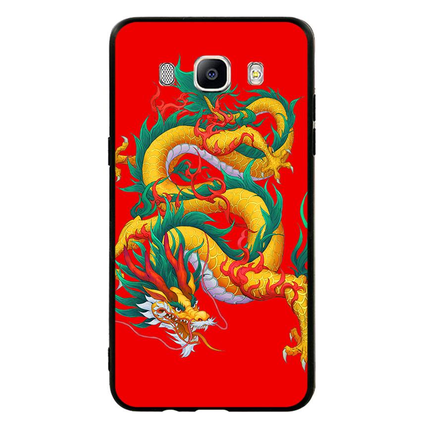 Ốp lưng viền TPU cho điện thoại Samsung Galaxy J5 2016 - Dragon 09