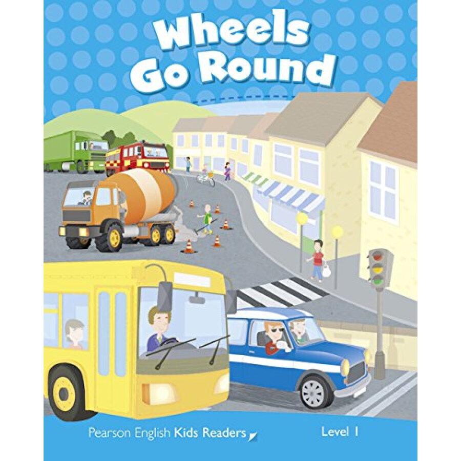 Penguin Kids 1 Wheels Go Round Reader Clil