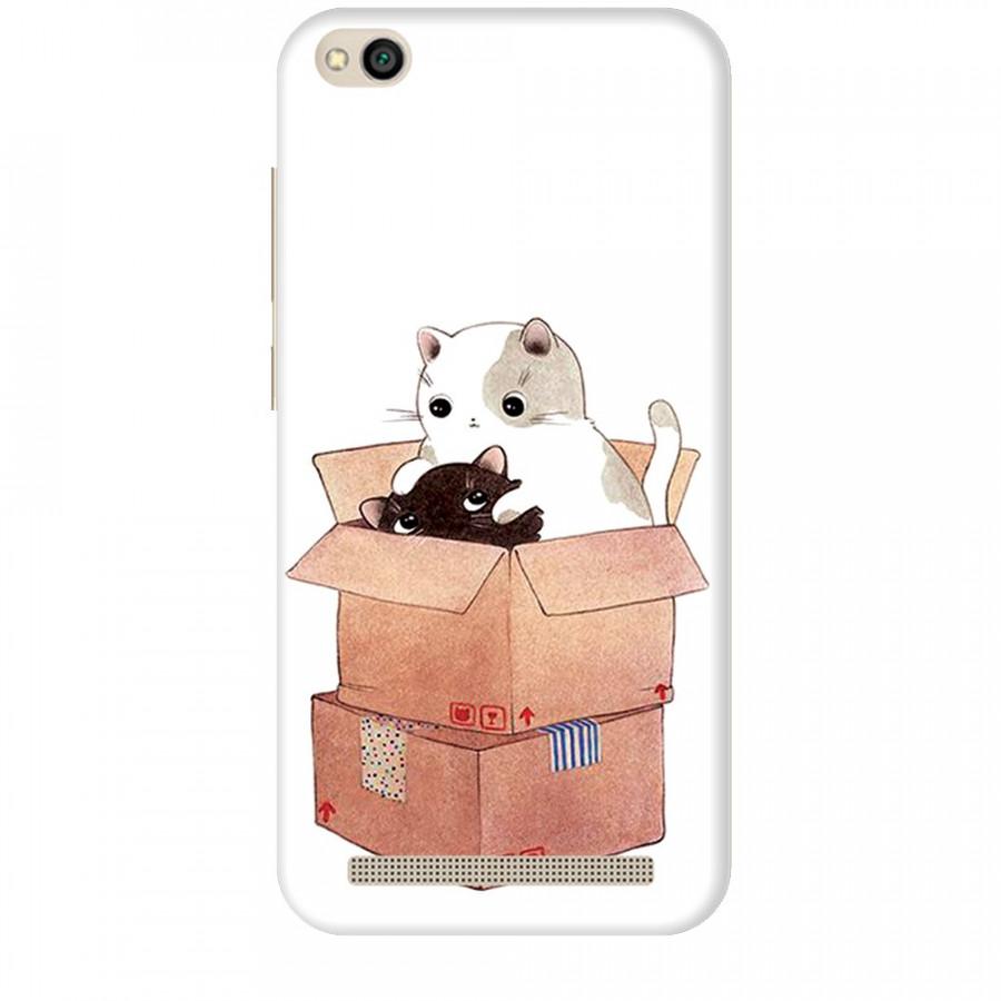 Ốp lưng dành cho điện thoại XIAOMI REDMI 5A Mèo Con Dễ Thương