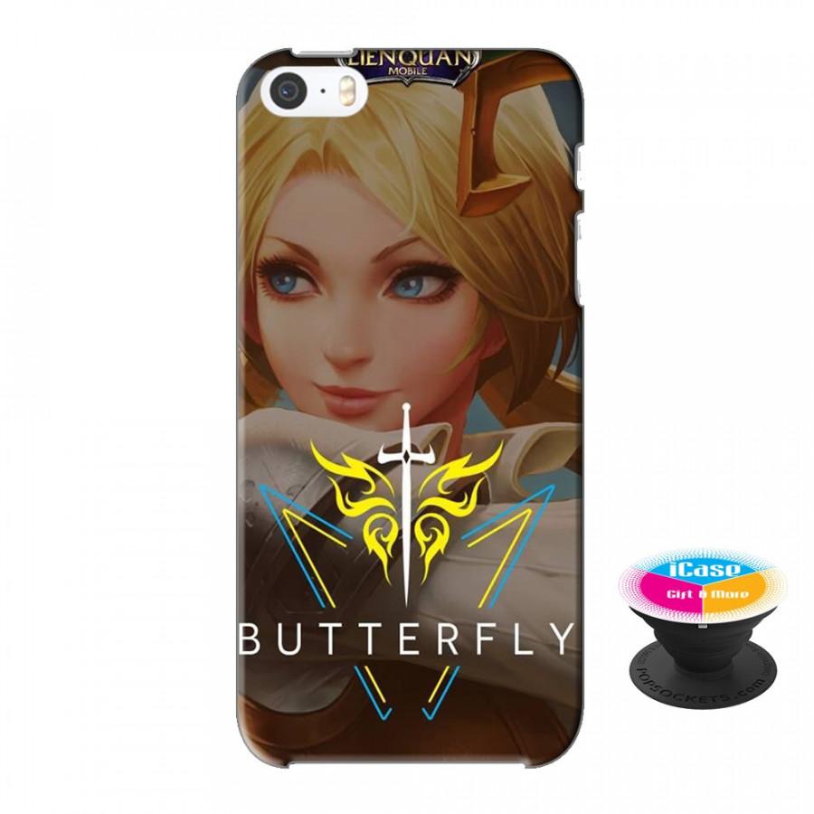 Ốp lưng nhựa dẻo dành cho iPhone 5S tặng popsocket in logo iCase - in hình Butterfly - 18548305 , 6958456422638 , 62_20495510 , 200000 , Op-lung-nhua-deo-danh-cho-iPhone-5S-tang-popsocket-in-logo-iCase-in-hinh-Butterfly-62_20495510 , tiki.vn , Ốp lưng nhựa dẻo dành cho iPhone 5S tặng popsocket in logo iCase - in hình Butterfly