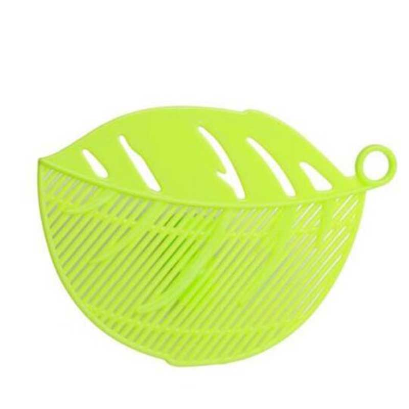Rice Sieve Beans Peas Leaf Shape Kitchen Supply Clips Gadgets Cleaning Tools
