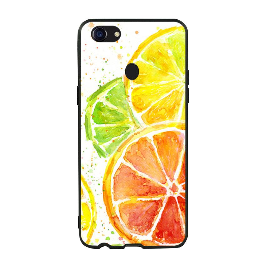Ốp lưng viền TPU cho Oppo F5 - Oranges