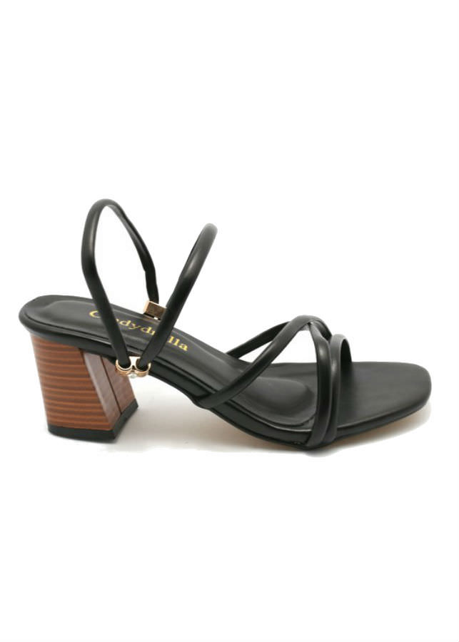 Giày Sandal Nữ Cao Gót Dây Cindydrella C126D