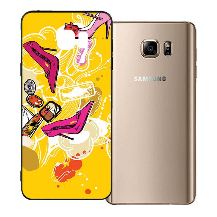 Ốp lưng viền TPU cho Samsung Galaxy Note 5 - Art