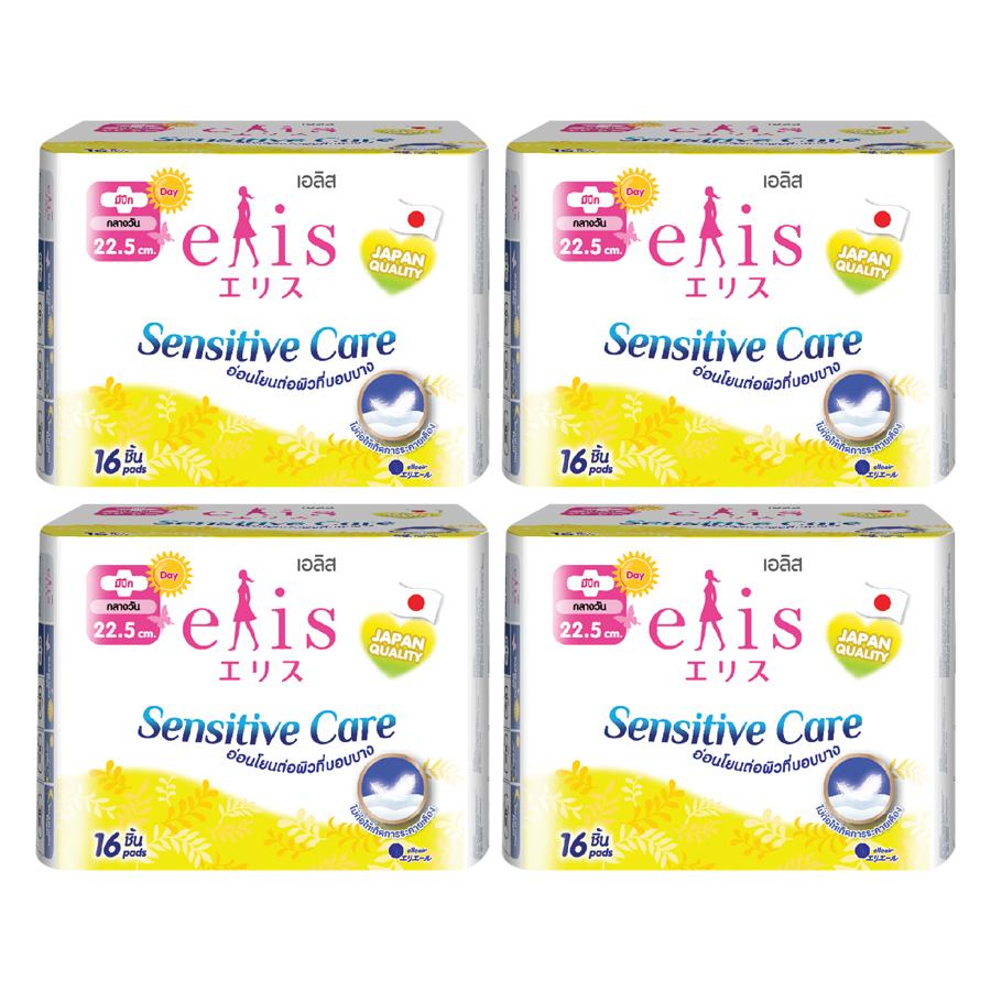 Combo 4 Gói Băng Vệ Sinh Elis Sensitive Care RP 22.5cm (16 Miếng / Gói) - 7403676 , 1512250915571 , 62_15347736 , 136000 , Combo-4-Goi-Bang-Ve-Sinh-Elis-Sensitive-Care-RP-22.5cm-16-Mieng--Goi-62_15347736 , tiki.vn , Combo 4 Gói Băng Vệ Sinh Elis Sensitive Care RP 22.5cm (16 Miếng / Gói)