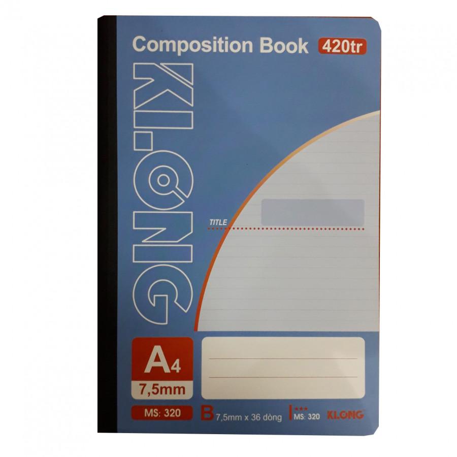 Combo 3 sổ A4 420tr