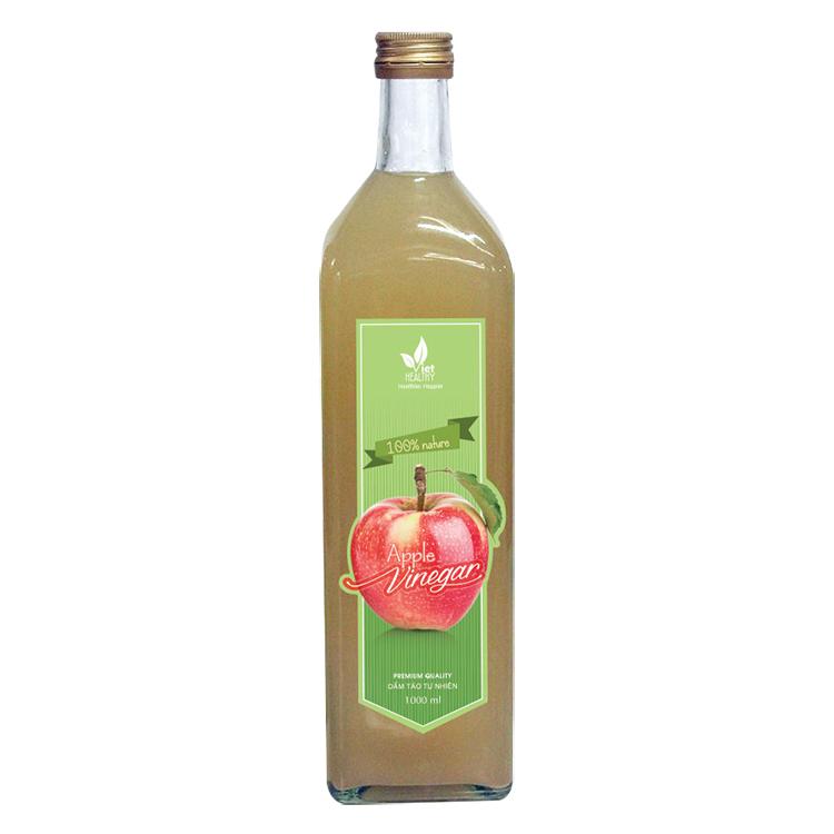 Giấm táo nguyên chất Viet Healthy 1000ml