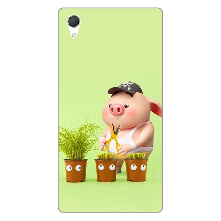 Ốp lưng dẻo cho điện thoại Sony Z1 _Pig 21 - 1674192 , 3220047210263 , 62_11605964 , 200000 , Op-lung-deo-cho-dien-thoai-Sony-Z1-_Pig-21-62_11605964 , tiki.vn , Ốp lưng dẻo cho điện thoại Sony Z1 _Pig 21