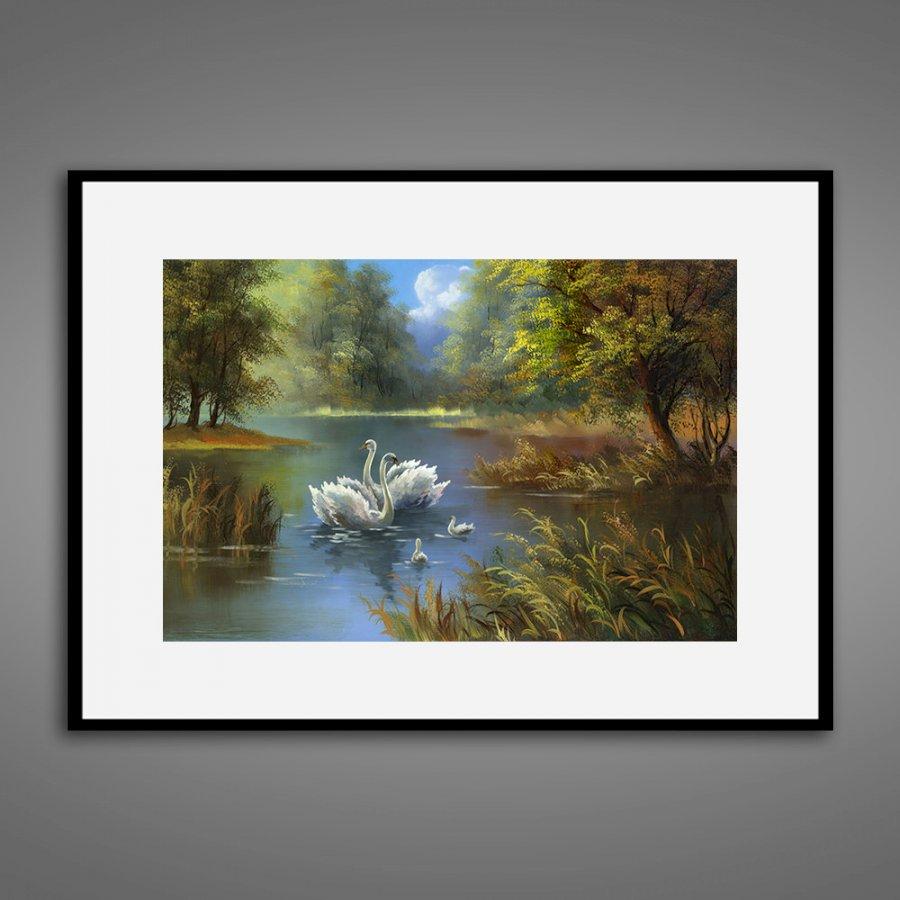 Tranh treo tường trang trí sơn dầu canvas 04