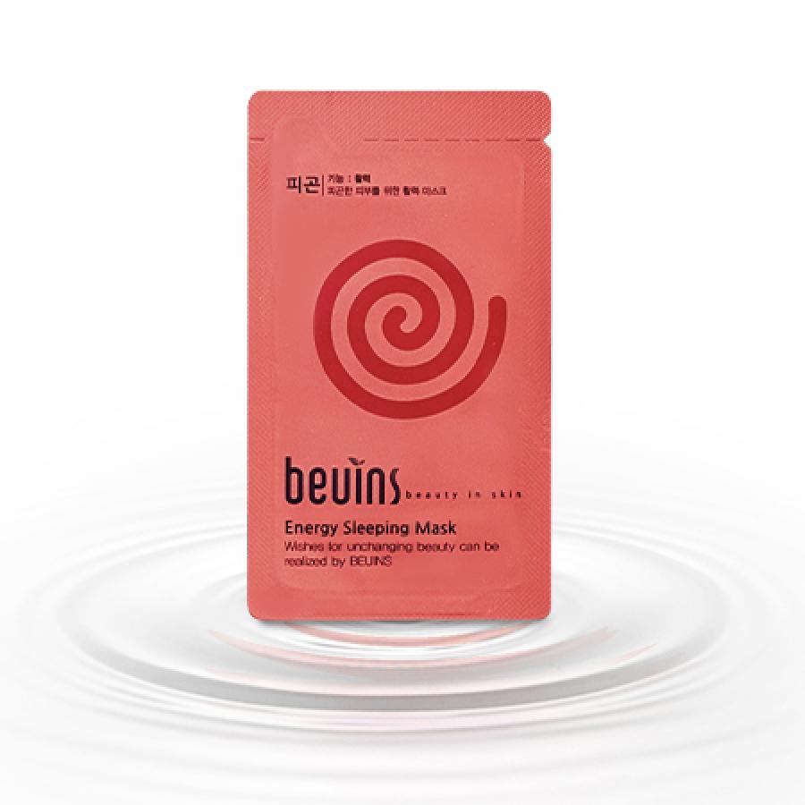 Combo 5 Gói Mặt Nạ Ngủ Cấp Năng Lượng Beuins - 1212253 , 5169379917526 , 62_5107275 , 137500 , Combo-5-Goi-Mat-Na-Ngu-Cap-Nang-Luong-Beuins-62_5107275 , tiki.vn , Combo 5 Gói Mặt Nạ Ngủ Cấp Năng Lượng Beuins