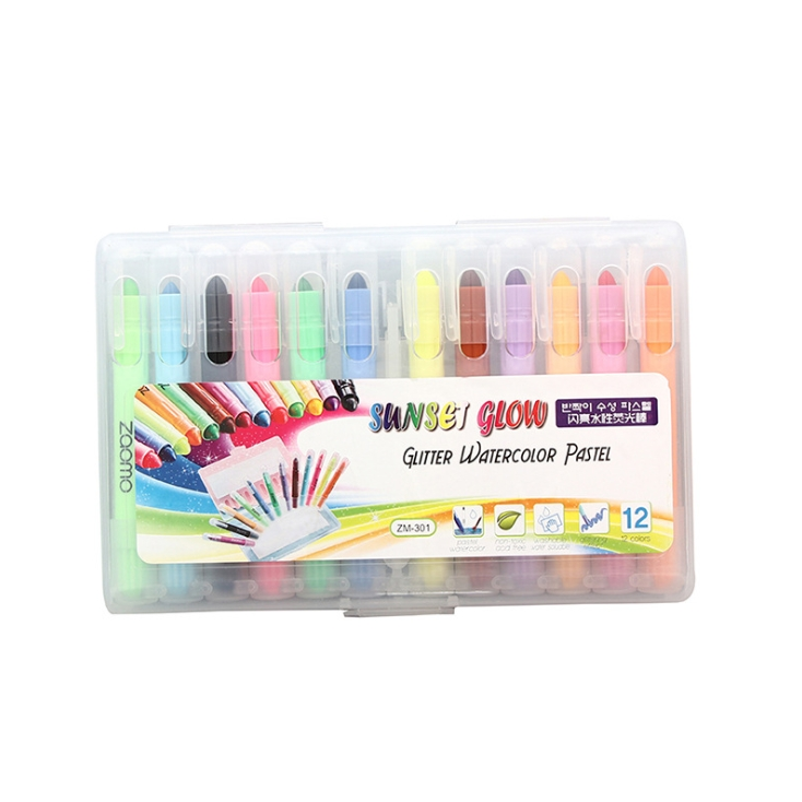 Bộ 12 bút sáp vặn Crayon ZH-05