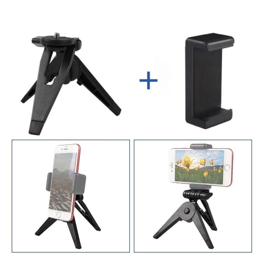 Tripod giá đỡ 3 chân mini để bàn cho điện thoại, gopro - 9894080 , 8677405737811 , 62_19583161 , 90000 , Tripod-gia-do-3-chan-mini-de-ban-cho-dien-thoai-gopro-62_19583161 , tiki.vn , Tripod giá đỡ 3 chân mini để bàn cho điện thoại, gopro