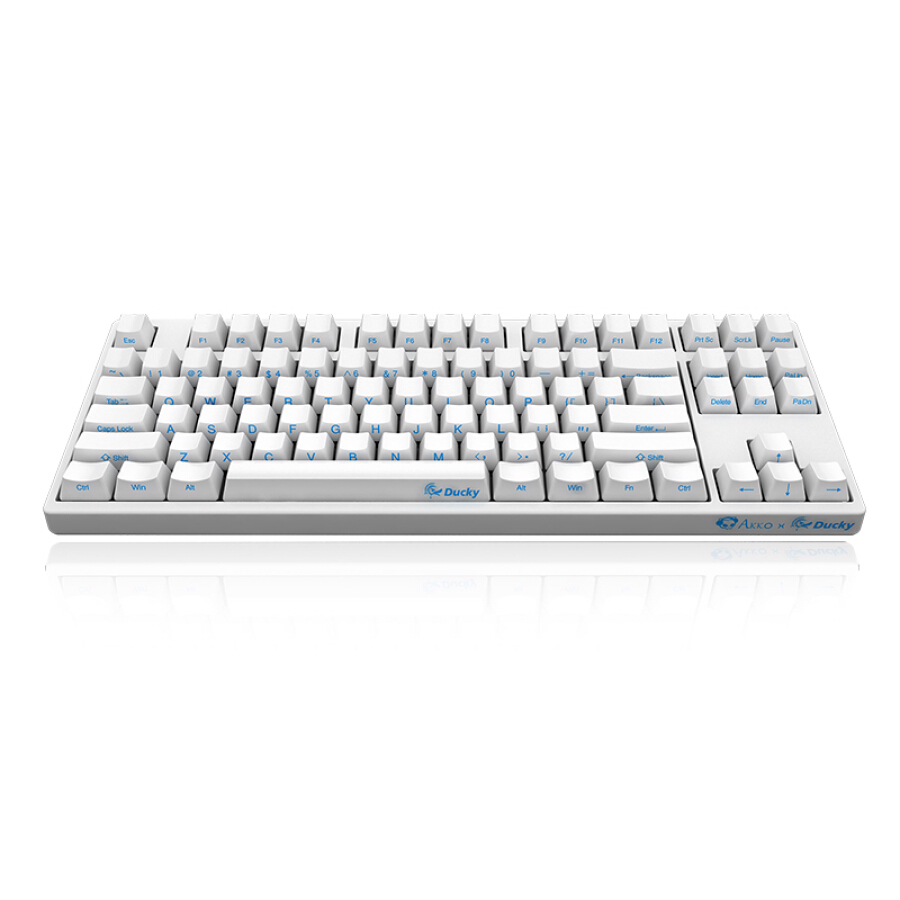 AKKO Ducky Zero 3087 cherry shaft mechanical keyboard 87 key original cherry axis PBT side engraved black tea axis game keyboard wired keyboard - 2015381 , 8721146315897 , 62_10448683 , 1564000 , AKKO-Ducky-Zero-3087-cherry-shaft-mechanical-keyboard-87-key-original-cherry-axis-PBT-side-engraved-black-tea-axis-game-keyboard-wired-keyboard-62_10448683 , tiki.vn , AKKO Ducky Zero 3087 cherry shaf