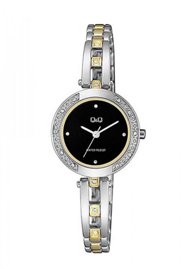 Đồng hồ nữ QQ Citizen  F639J402Y dây sắt