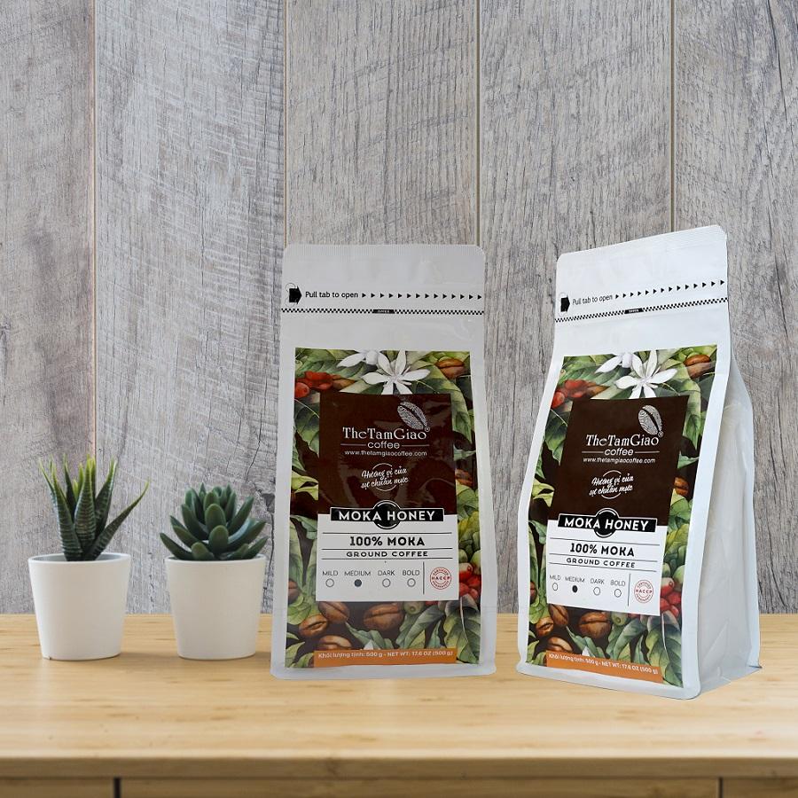 CÀ PHÊ -Moka Red Bourbon - Nguyên Chất Rang Mộc - Thương Hiệu The Tam Giao Coffee - 23101074 , 7284835130337 , 62_21023881 , 560000 , CA-PHE-Moka-Red-Bourbon-Nguyen-Chat-Rang-Moc-Thuong-Hieu-The-Tam-Giao-Coffee-62_21023881 , tiki.vn , CÀ PHÊ -Moka Red Bourbon - Nguyên Chất Rang Mộc - Thương Hiệu The Tam Giao Coffee