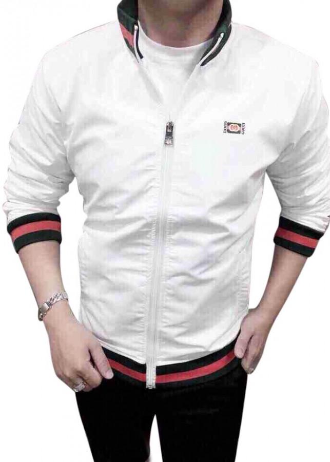 Áo khoác trắng lá cờ cao cấp