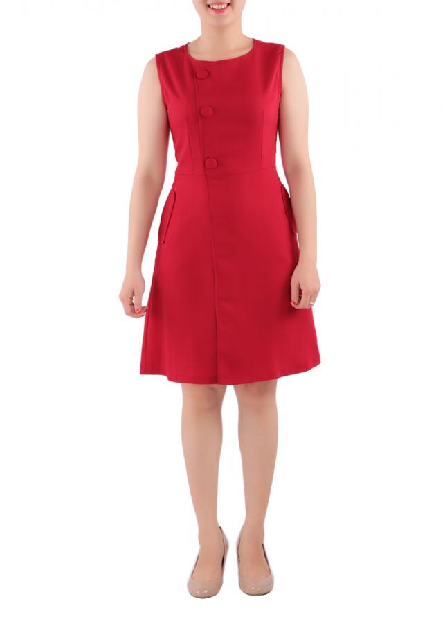 Đầm Nữ Ngực Phối Nút Bọc Zerasy Fashion - 1349177 , 3884021416760 , 62_8121325 , 299000 , Dam-Nu-Nguc-Phoi-Nut-Boc-Zerasy-Fashion-62_8121325 , tiki.vn , Đầm Nữ Ngực Phối Nút Bọc Zerasy Fashion
