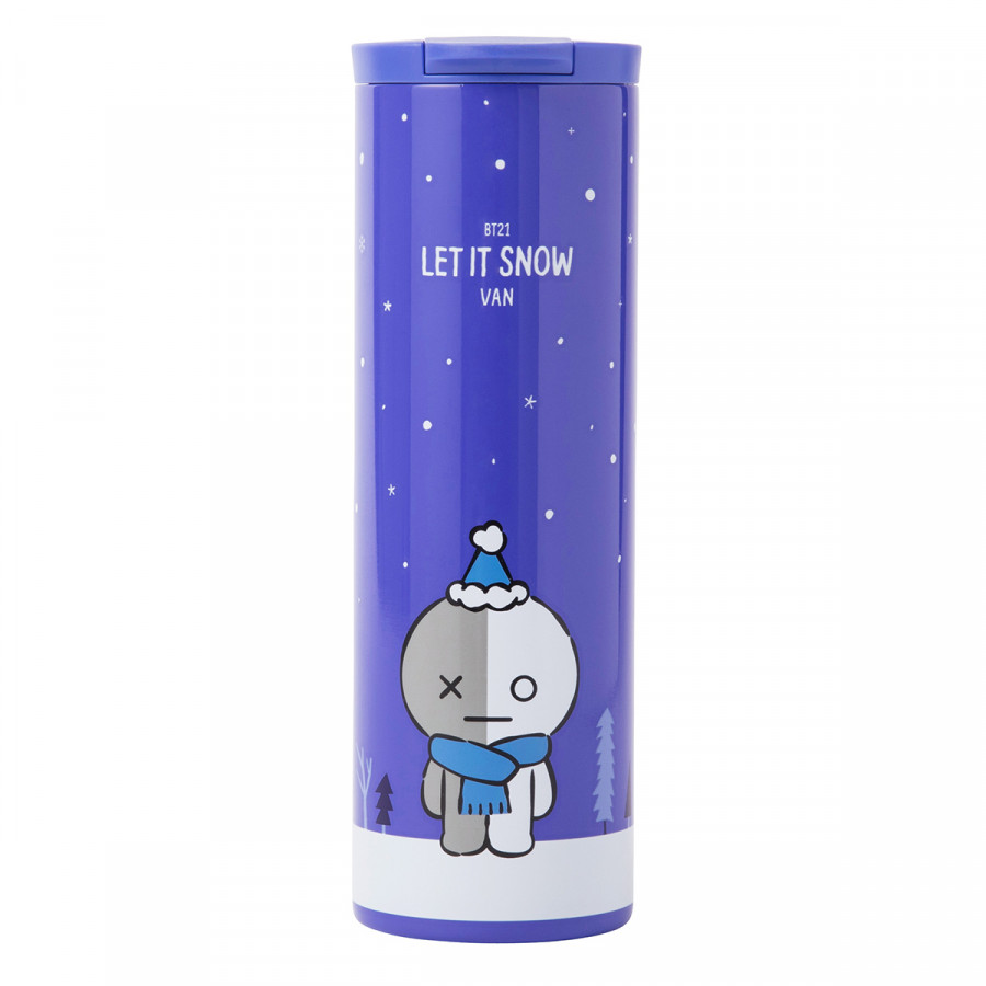 [BT21] Winter Slim Tumbler - 1950596 , 8214380320623 , 62_14012058 , 982000 , BT21-Winter-Slim-Tumbler-62_14012058 , tiki.vn , [BT21] Winter Slim Tumbler