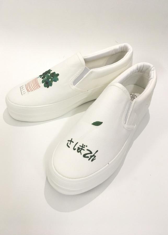 Giày bệt Style Nữ Sinh Nhật Bản 2018
