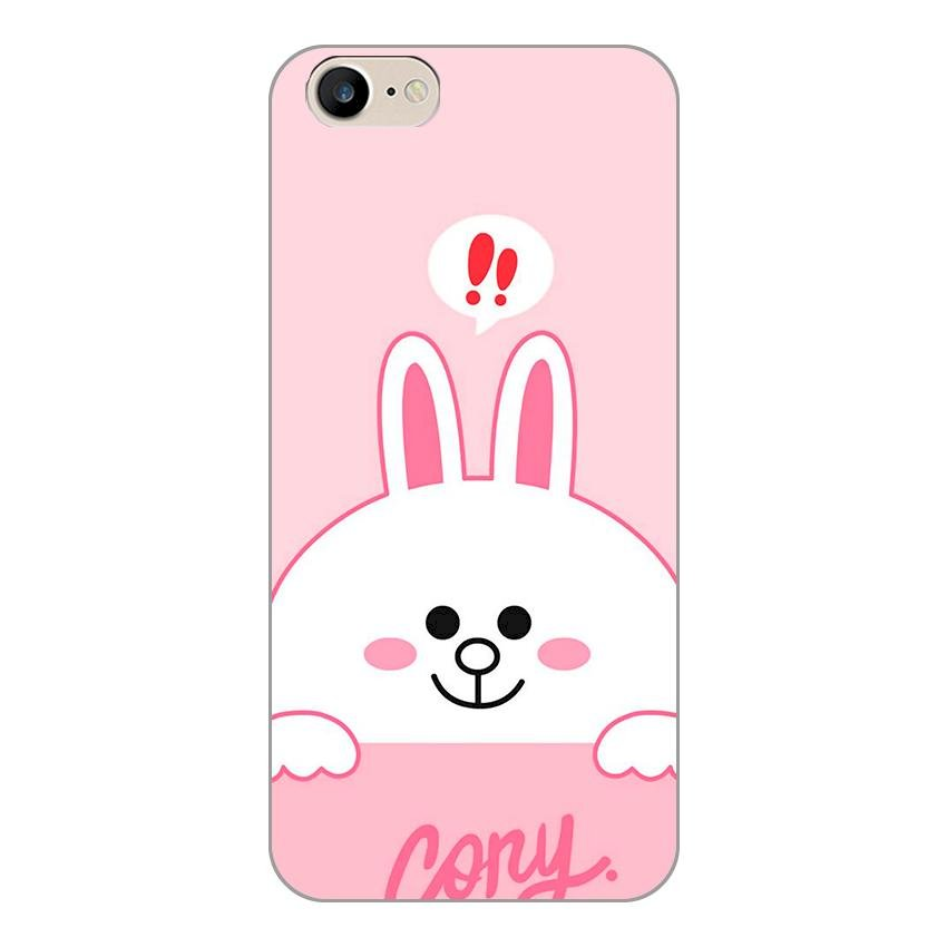 Ốp lưng dẻo cho Apple iPhone 6 / 6s _Thỏ Cony