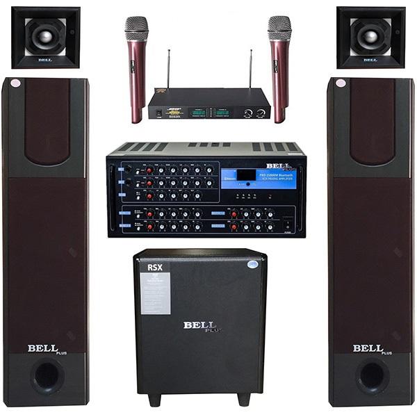 Dàn nghe nhạc và hát karaoke BellPlus PA - KS 336 Tích hợp Bluetooth  (Chính Hãng ) - 9776836 , 9350494993700 , 62_16739405 , 18600000 , Dan-nghe-nhac-va-hat-karaoke-BellPlus-PA-KS-336-Tich-hop-Bluetooth-Chinh-Hang--62_16739405 , tiki.vn , Dàn nghe nhạc và hát karaoke BellPlus PA - KS 336 Tích hợp Bluetooth  (Chính Hãng )