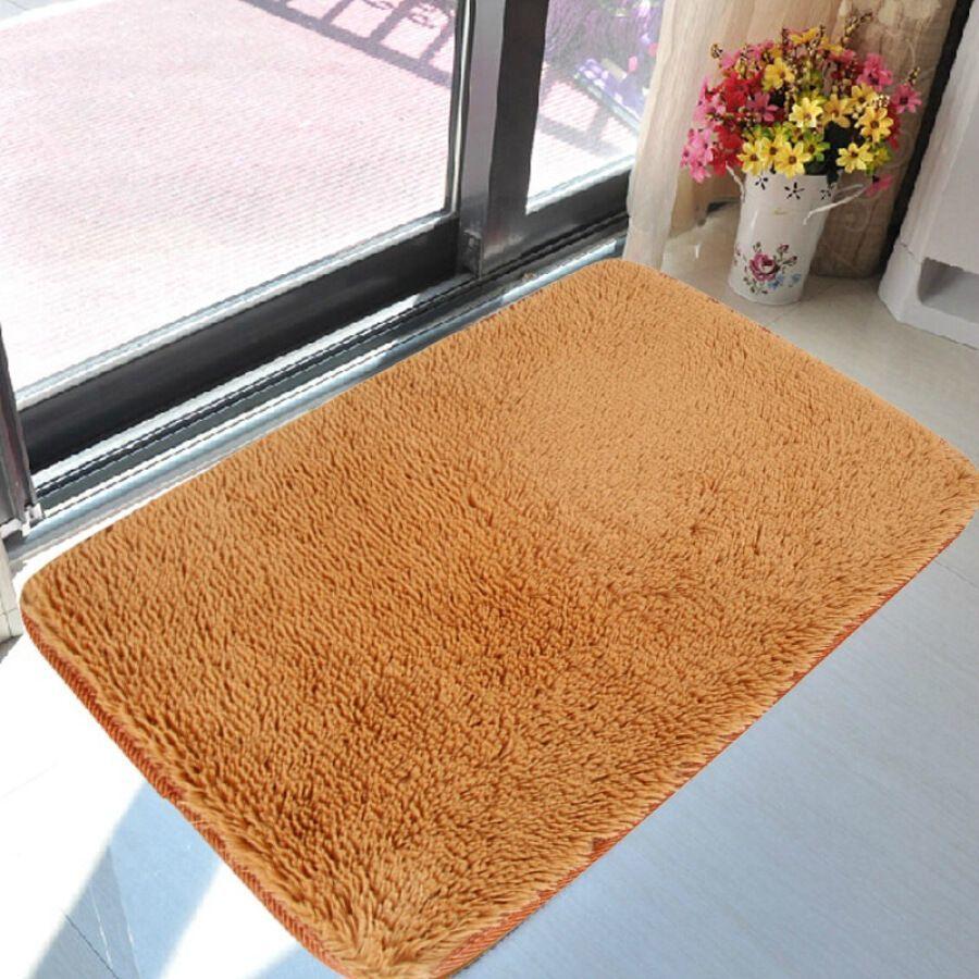 Thảm Lông Trải Sàn 1m6 x 2m - Vàng Bò