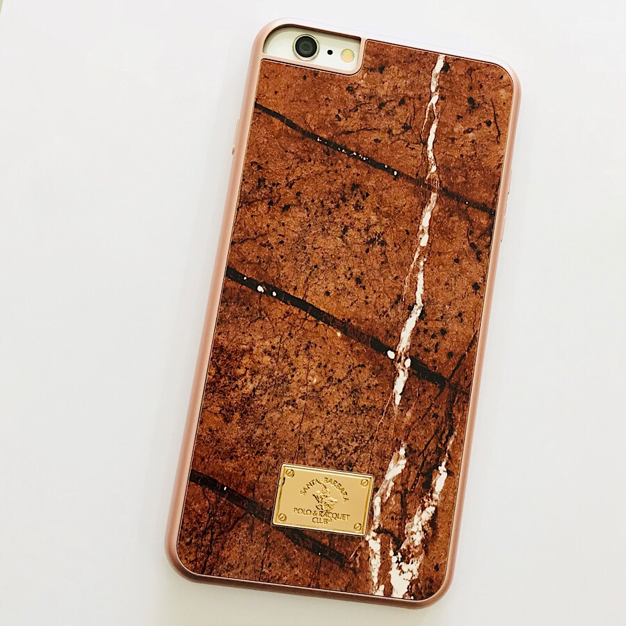 Ốp lưng iPhone 6 Plus / 6s Plus hiệu POLO Marble Pc