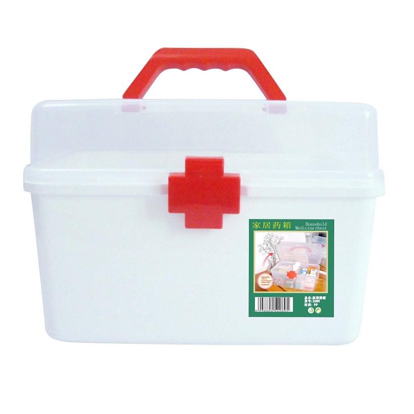 Hộp đựng thuốc chuyên dụng gia đình nhựa PP (cỡ lớn)
