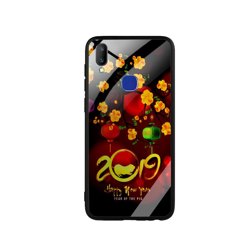 Ốp Lưng Kính Cường Lực cho điện thoại Vivo V11i - Hello 2019_6