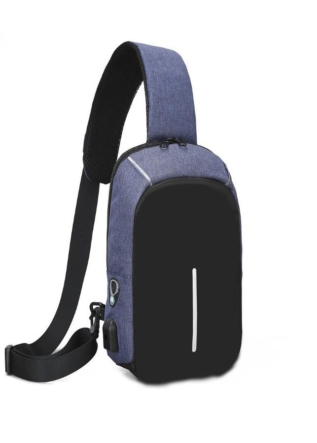 Túi đeo chéo USB 19 đa năng có lỗ tai phone, balo ngăn khóa chống trộm cao cấp - POKI - 967071 , 2988286143377 , 62_5155873 , 300000 , Tui-deo-cheo-USB-19-da-nang-co-lo-tai-phone-balo-ngan-khoa-chong-trom-cao-cap-POKI-62_5155873 , tiki.vn , Túi đeo chéo USB 19 đa năng có lỗ tai phone, balo ngăn khóa chống trộm cao cấp - POKI